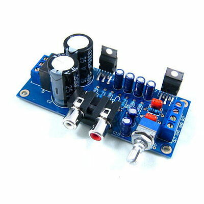 TDA2030A Audio Power Amplifier DIY Kit Components OCL 18W x 2 BTL 36W UK seller