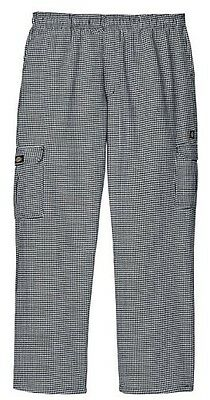 Dickies Chef Cargo Pant Houndstooth New Large