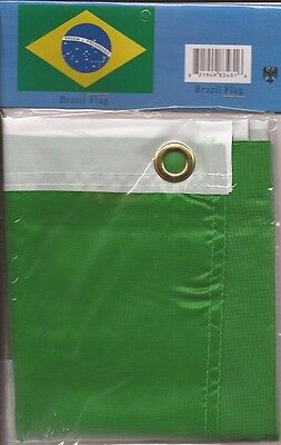 LOT OF 6 Brazil 3x5 Polyester Flags $5.95 each, FREE SHIPPING Brazil 3 x 5 flags