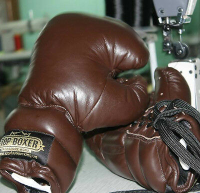 TopBoxer Old School Boxing Gloves Vintage Classic Retro Oldschool