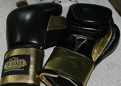 TopBoxer Boxing Gloves Winning Inspired