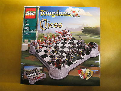 LEGO 853373 KINGDOMS CHESS SET  NEW AND SEALED- Neuf en boîte-MISB-