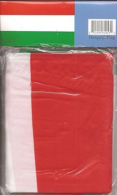 LOT OF 6 Hungary 3x5 Polyester Flags $5.95 Each, Hungarian 3 x 5 Flag