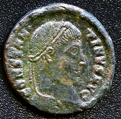 "Ancient Roman Coin "" Constantine I "" 307 - 337 A.D. REF# Like S3785 17 mm  Dia."