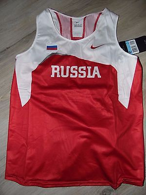 athletisme maillot russie taille M olympic rio JO singlet team track women