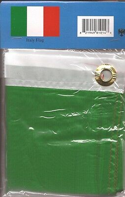 LOT OF 6 Italy 3x5 Polyester Flags $5.95 Each, Italian 3 x 5 Flag