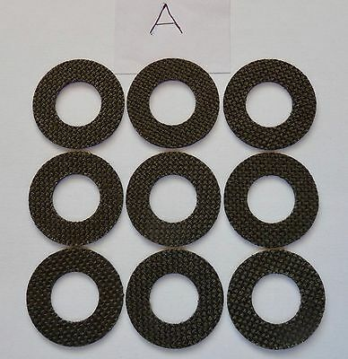 3 sets Roys carbontex drag washers suitable for  shimano ultegra 14000/xtd /xsa