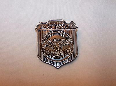 Metal Junior Ranger Badge   National Parks  State  & County Parks  FREE SHIPPING