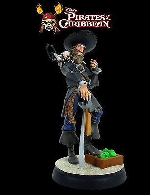 Pirates Of The Caribbean Captain Barbossa Animated Maquette Statue Gentle Giants