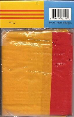 LOT OF 6 South Vietnam 3x5 Polyester Flags $5.95 Each, S. Vietnamese 3 x 5 Flag