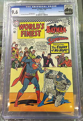 WORLD'S FINEST #163 CGC 9.6 white pages CANADA SELLER rocky mountain pedigree