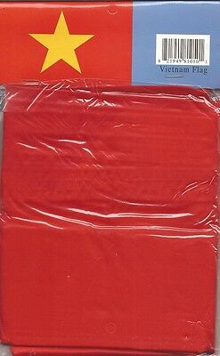 LOT OF 6 Vietnam 3x5 Polyester Flags $5.95 Each, Vietnamese 3 x 5 Flag
