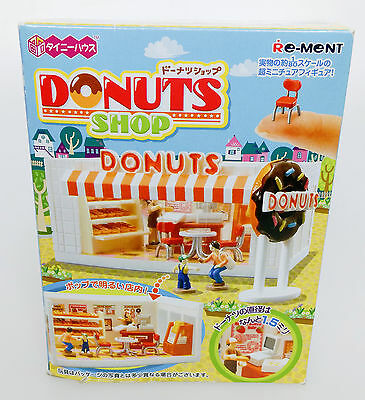 Very Rare Re-Ment Donuts Shop 2009 Miniature 1:80 Donut Food HTF Retired Mini