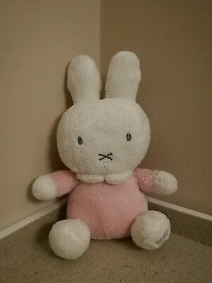 MIFFY collectable Soft Plush Toy pink rattle LITTLE STAR HTF VGC Dick Bruna