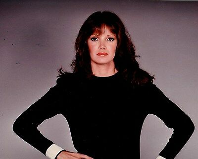 JACLYN SMITH color promo shot hands on hips Hollywood Celebrity photo (45bh)