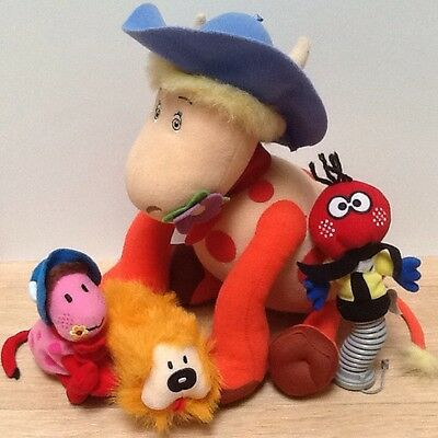 The Magic Roundabout ~ Singing Ermintrude And Little Plush Toys Bundle