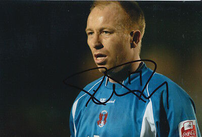 Leyton Orient Hand Signed Paul Terry 6X4 Photo.