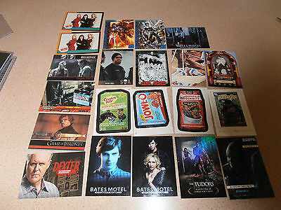 Mixed lot of trading cards