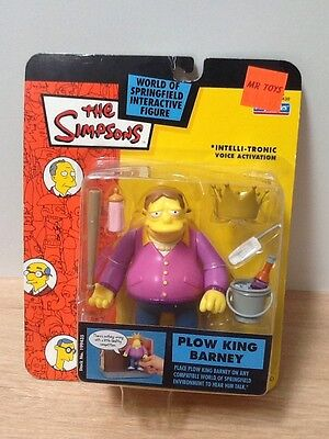 The Simpsons ~ Rare WOS Figure Plow King Barney