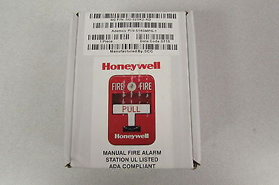 Honeywell Ademco 5140MPS-1 Fire Alarm Pull Station - Fast Free Ship - New In Box