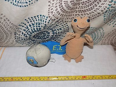 Mini Plush Soft Toy Extra Terrestrial E.T Toy Doll and soft ball
