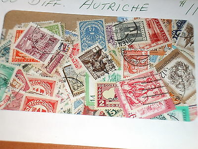 AUSTRIA- SELECTION OF 200 DIFFERENT mint & used, Mostly older