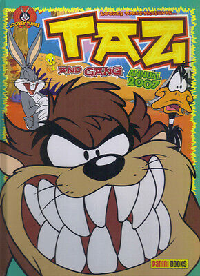 TAZ AND GANG ANNUAL 2007 - NOT PRICE CLIPPED NO WRITING/COLOURING - Ex Cond