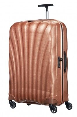 NEW Samsonite Cosmolite 3 Spinner Suitcase, Copper Blush, 75cm/2.6 kg