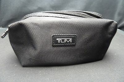BLACK New Authentic Soft Tumi Delta airline Amenity Kit