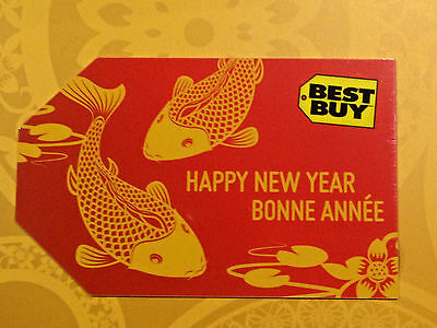 2017 Best Buy CANADA Happy CHINESE New Year (Year of the rooster) NCV FR/ENG