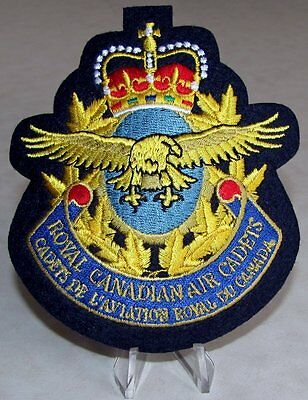 Canada RCAC The Royal Canadian Air Cadets Blazer Badge