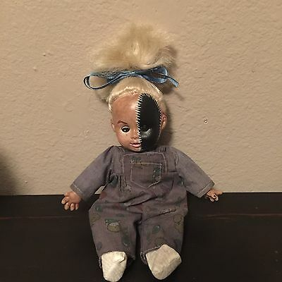 Scary Spooky Ooak Creepy Reborn Haunted Ghost Horror Gothic Blonde Doll Bethany