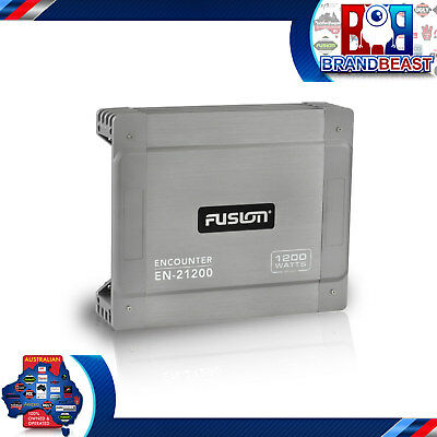 FUSION EN-21200 ENCOUNTER SERIES 1200W 2-CHANNEL CLASS-AB BRIGEABLE CAR AMP kit