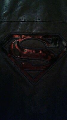 Superman leather jacket XXL