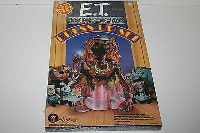 Colorforms E.T. The Extra-Terrestrial Dress Up Play Set Vintage 1982 Sealed 6000