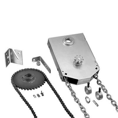 Garage Door Chain Hoist - Shaft Mount (4020V) 4:1 Reduced Drive