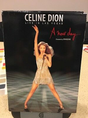 Celion Dion, A New Day, Dvd