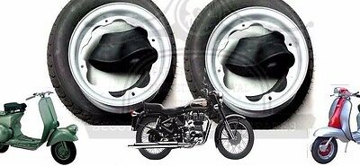 Lambretta Wheel Rim +Continental Tyre 3.50 X 10 + Inner Tube 2 Units @aud