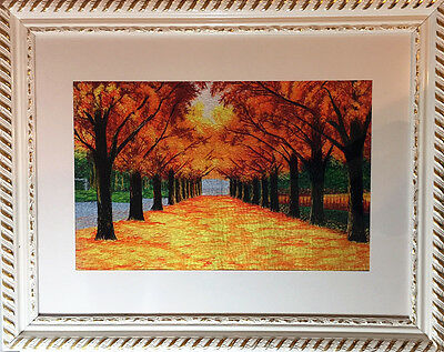 Great gift for Mother's Day! Beautiful Chinese embroidery - Maple tree