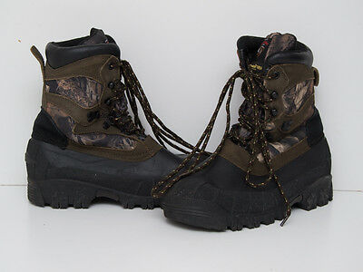 Mens Herman Survivors Thinsulate Hunting Boots Size Uk 6.5 Eur 40 Excellent
