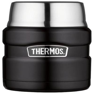 Insulated Bottle Thermos Steel Vacuumware King Food Jar Serving Cup 16-Ounce Coo