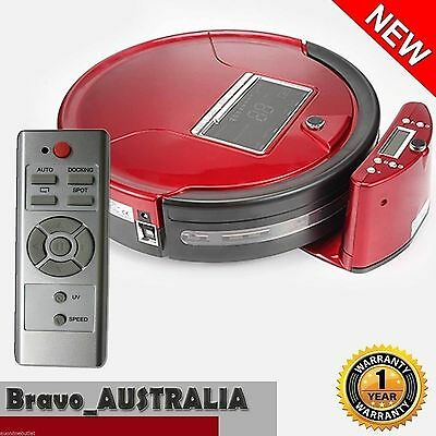 Robot Vac 7 in 1 Vacuum Cleaner LED Robotic Automatic Rechargeable Floor Sweeper