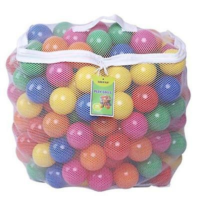 New 200 Crush Proof Plastic Ball Pit Balls For Inflatable Bouncers Toy Play Stro