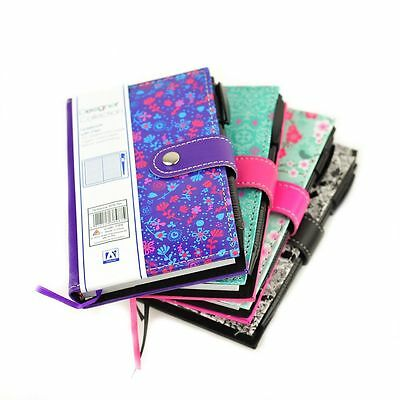 A6 Notepad Spiral Pad - Book 70gsm Lined 200 Page Paper Notebook Tabbed + Pen