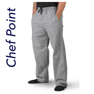 Chef Drawstring Pants,  Check Pattern, Breathable Pockets!