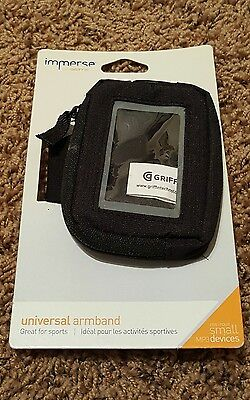 Griffin Immerse Universal Armband Black for Small Devices MP3 Players*
