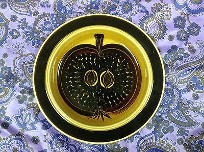 Vintage Arabia Finland Fructus Pomegranate Side Plate Retro FREE POST
