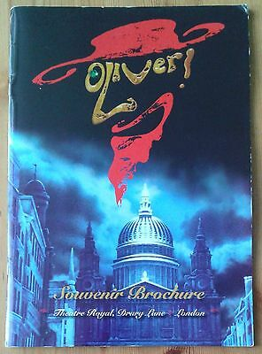 Oliver Souvenir Brochure/photo programme Theatre Royal Drury Lane Nov 2009 ed.