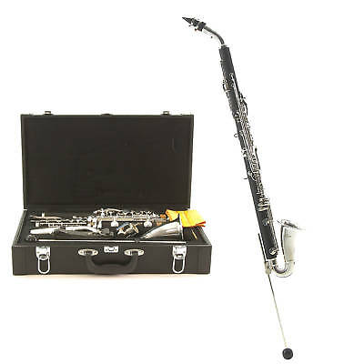New Eb (E-flat) Alto Clarinet with Hard Case and Mouthpiece