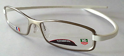 Tag Heuer 3705 007 Frames / Glasses - Reflex Pure / White - Trusted Seller - 34